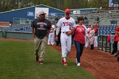 Baseball Senior Day vs. Wright State - May 4, 2019 (Ronson Originals)