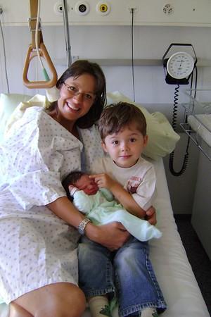 Aurélien et Marius bébé