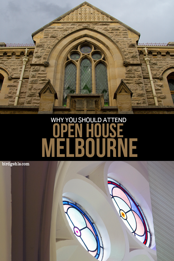 Open House #Melbourne is an annual weekend festival where the city throws open the doors of buildings which are normally closed to the public. It's basically an opportunity for a good sticky beak into places you're not allowed into the other 363 days of the year. Here's why you should attend. / Things to Do in Melbourne /