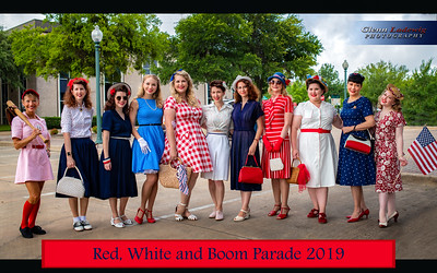 Red, White and BOOM Event 2018 & 2019
