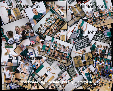Westwood V Volleyball Collages 2013