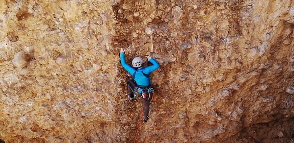 Rock Climbing at Maple Canyon