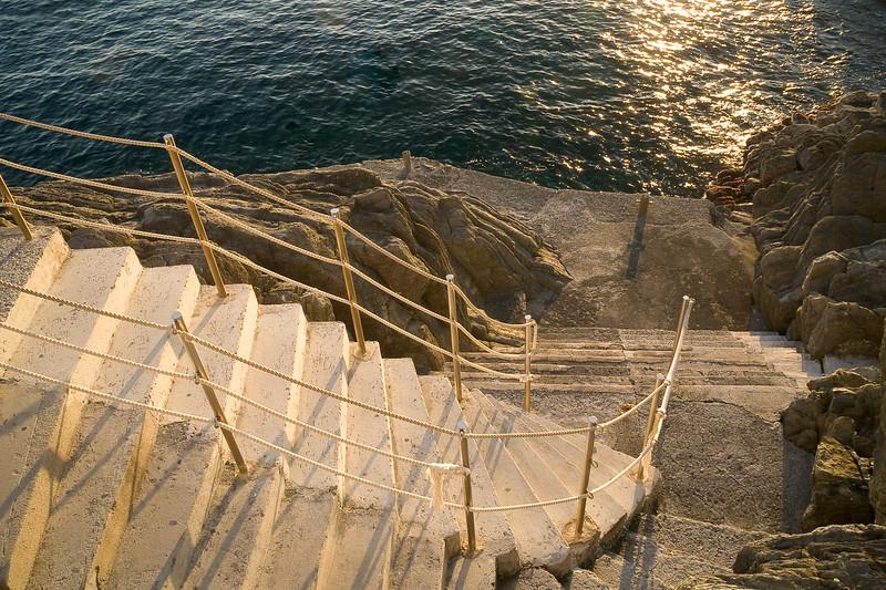 Steps to the Mediterranean