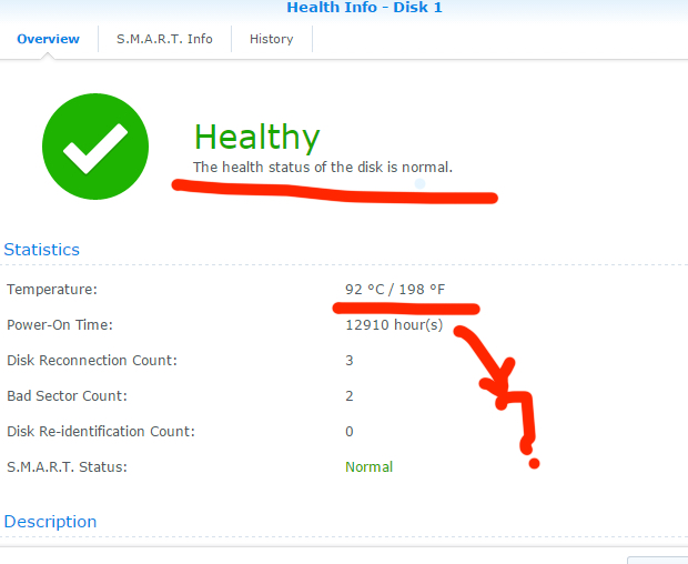 Synology Overheating Due to Hard Disk