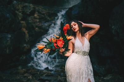 Waterfall Photo Shoot - Sarah