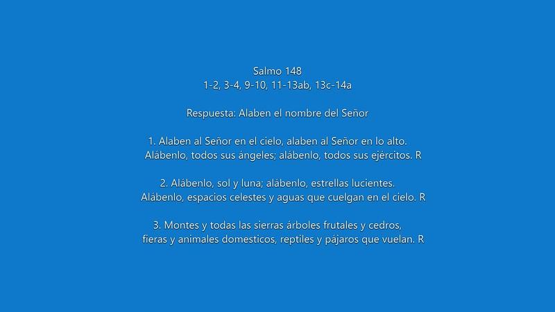 Salmo 148 Alaben al nombre del Señor_mp4.MP4