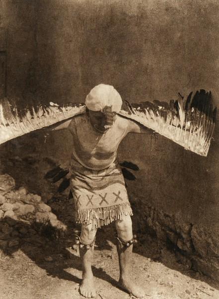 Eagle dancer - San Ildefonso (The North American Indian, v. XVII. Norwood, MA, The Plimpton Press,  1926)