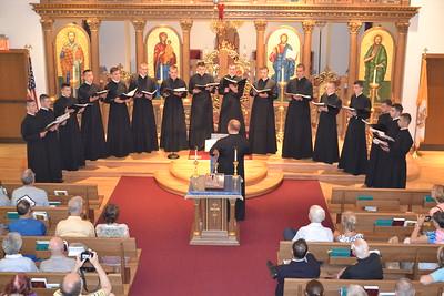 Seminary Choir videos 2016
