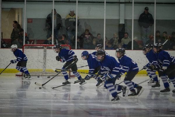 Geauga Maple Leafs Championship vs Youngstown Phantoms