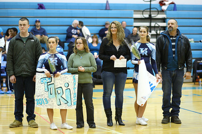 1Feb13 Boys Varsity Basketball Senior night