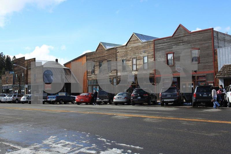 Roslyn main street on March 19, 2011.