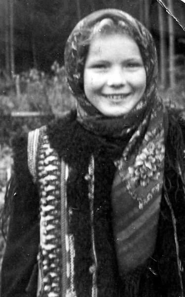 Lydia Bondar(Todositchuk) - Puerten, Bavaria 1949 - in DP Camp