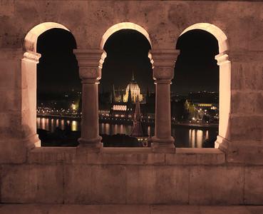 Budapest at Night 2005