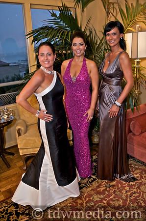 amfAR Preparty with Maria Barrios Ehmer and Friends 11-06-09