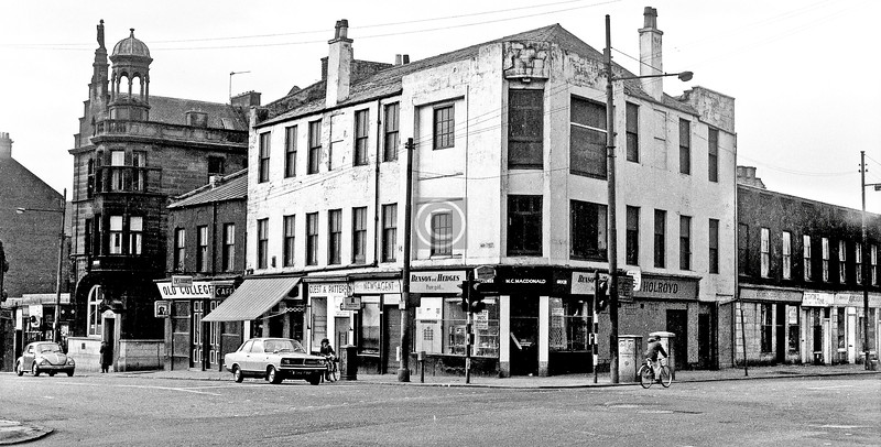 Corner of High St. and George St.  March 1973