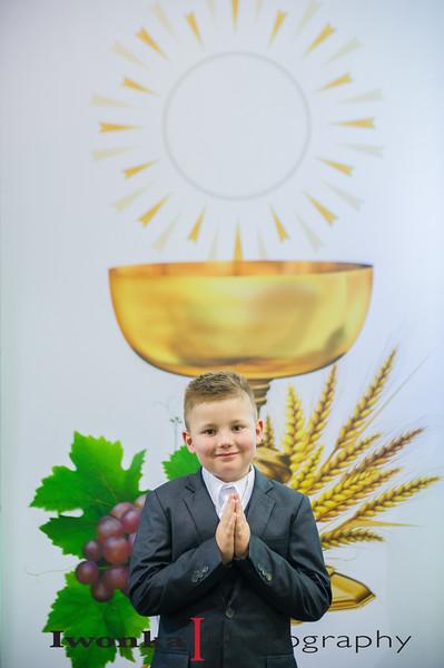 Alex Szwajnos 1st Holy Communion