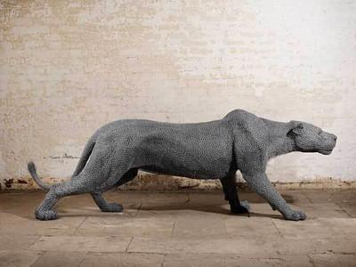 Kendra Haste Crea Increíbles Esculturas De Animales Con Alambre