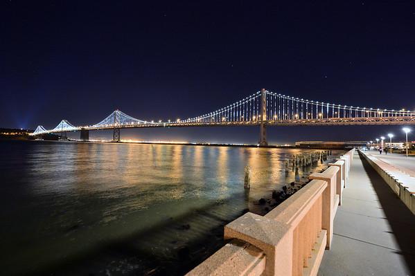 The San Francisco - Oakland Bay Bridge