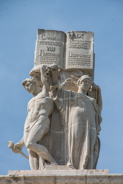 Monument to the Constution of 1812, Plaza Espana