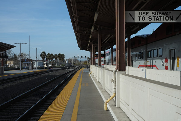 Train ride, San Jose-San Francisco, March 2013