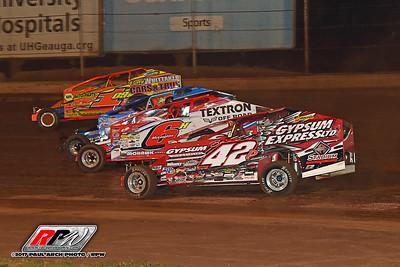 Buckeye Ground Pounder 100 - Sharon Speedway - 7/20/17 - Paul Arch