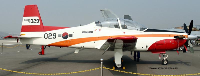 02-029 KAI KT-1 Wong BEE Republic of Korea Air Force
