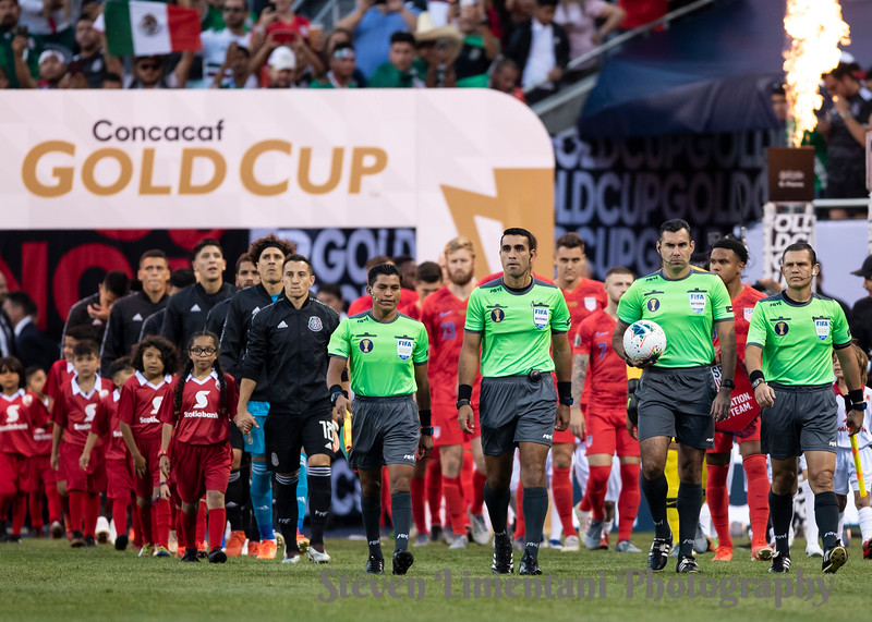 Referees, Mexico and USA