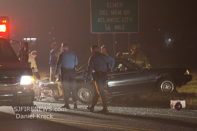 02-04-2012, MVC,  Franklin Twp. Gloucester County,  N. Delsea Dr.