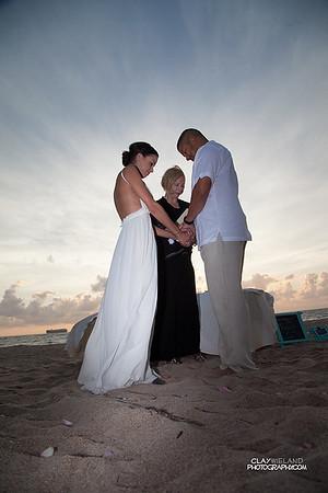 Crystal & Ephraim Wedding on the Beach