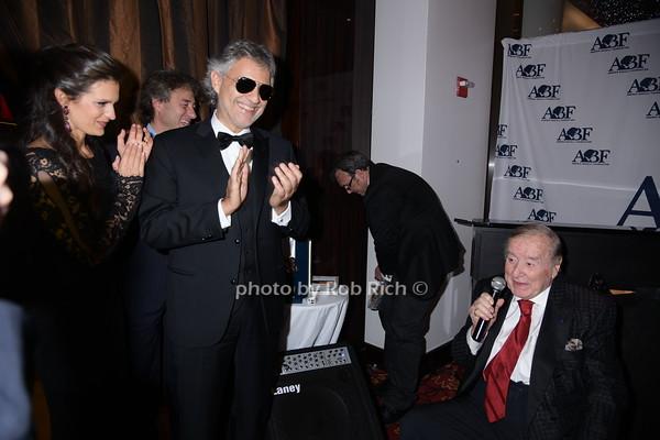 Veronica Berti, Marco Maccioni, Andrea Bocelli and Sirio Maccioni photo by Rob Rich/SocietyAllure.com © 2014 robwayne1@aol.com 516-676-3939