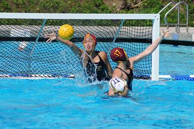 UCI Women's Water Polo Tournament 2010 - Semi-Final - University of Southern California vs University of California Berkeley 2/28/10. USC vs Cal. Final score 10 to 5. Photos by Allen Lorentzen.