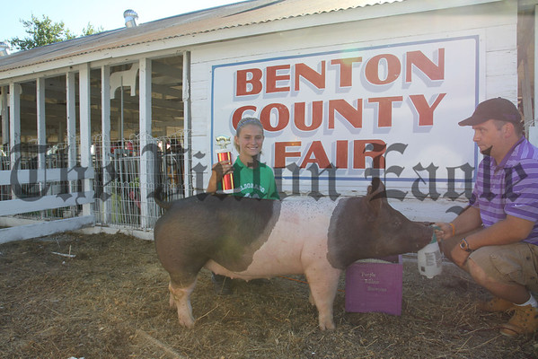 2012 Benton Co. Fair - Swine - Beef
