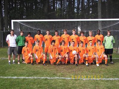 Keene Boys Varsity Soccer 2007