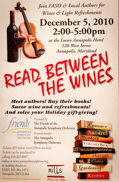 Read Between The Wines 2010