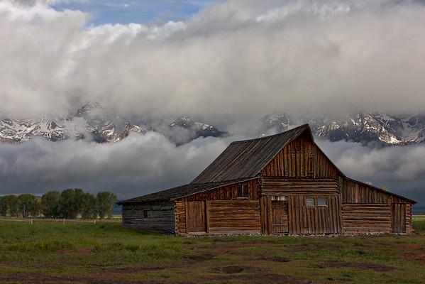 Yellowstone and Grand Tetons Landscape