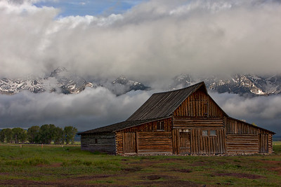 Yellowstone and Grand Tetons Landscape