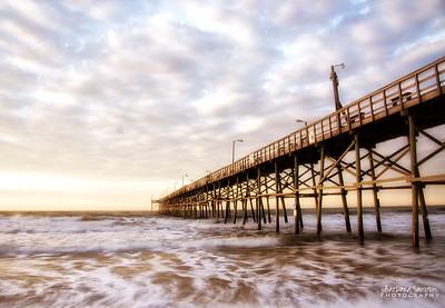 Sunrise-Yaupon Beach Fishing Pier-Oak Island, NC