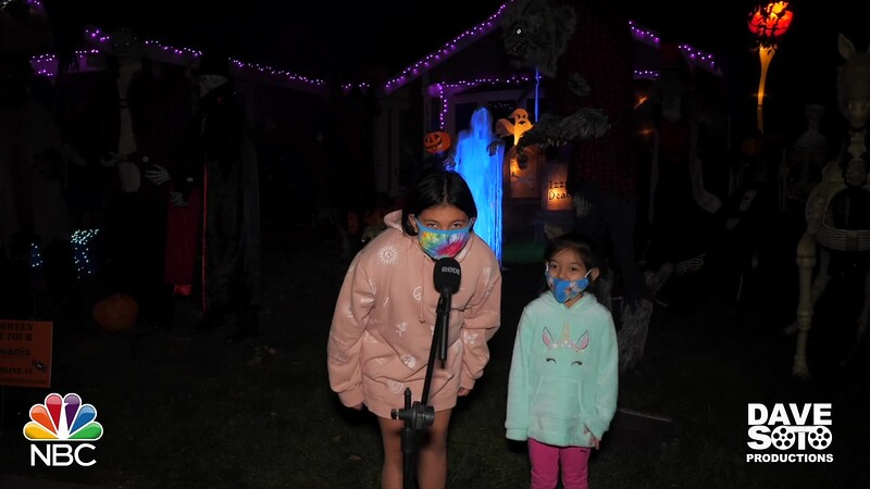 Halloween Night Elk Grove - NBC Nightly News