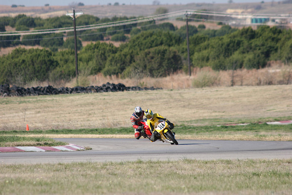 Bikes on the track at 0813-0911 Sat