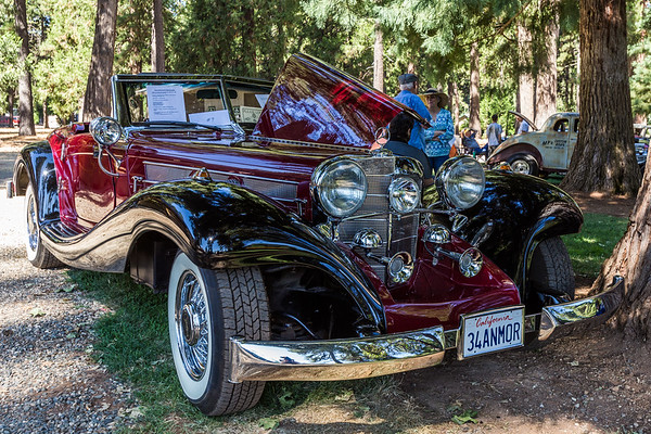 9th Annual Foresthill Classic Car Show, August 13, 2017