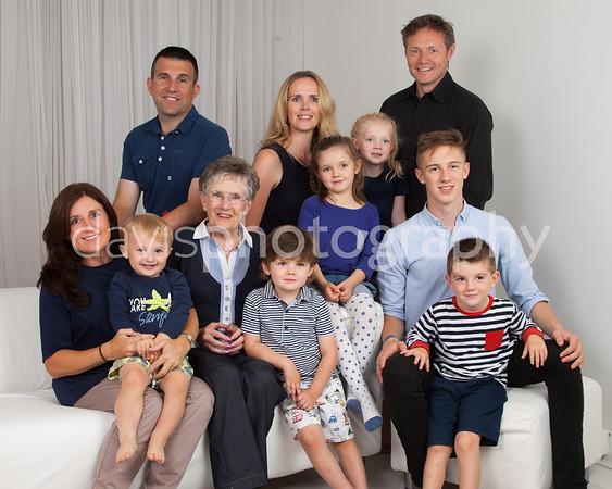 The Swinson Family Portraits