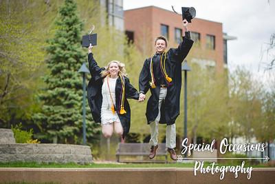 Brandi and Jackson's graduation