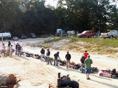 DDDS-Sept. 8, 2007 Redbud's Pit Shots - US13 Kart Club Track Last State Race Held At DMP