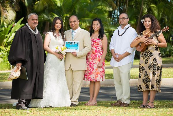 Congratulations Angela & Allan