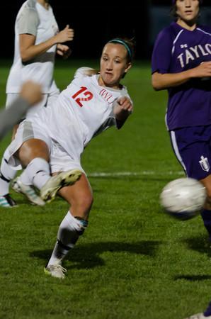 10/9/12 Women's Soccer vs. Taylor