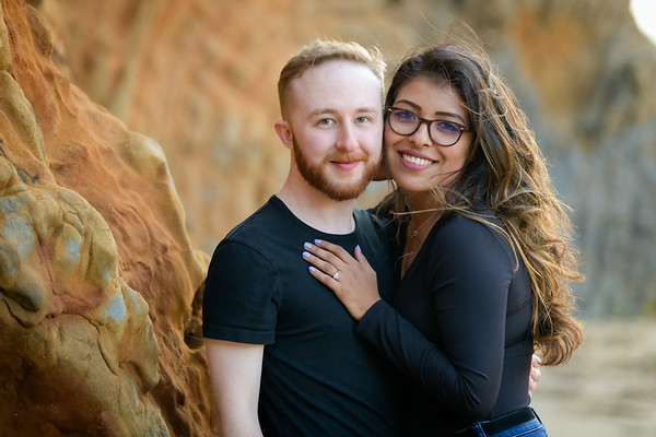 Zane proposes to Sarah @ Panther Beach, Santa Cruz