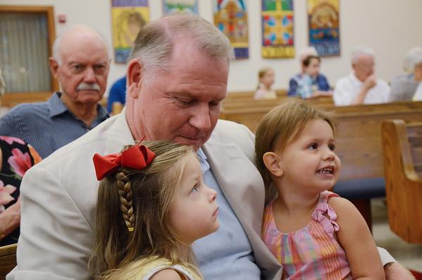 Violet Kathleen Burns Baptism