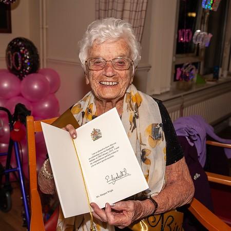 Margaret at 100