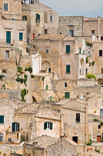 Sassi di Matera Houses, Sasso Barisano, Basilicata, Italy