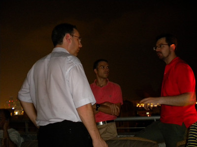 20100923 - Dubai, Farewell Get-Together